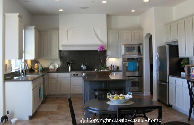 kitchen on Pinterest  Mercury glass, Grey cabinets and Medium kitchen
