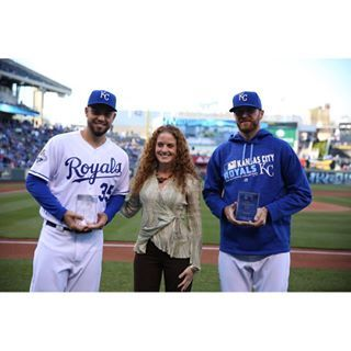Congrats to Wade Davis, Eric Hosmer and Dayton Moore on their MLB.com Greatness in Baseball Yearly Awards! | royals.com