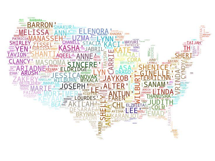 Bild ausgefallene amerikanische Vornamen