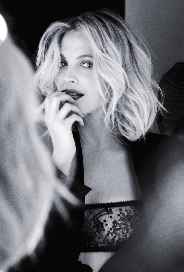 Drew Barrymore for Marie Claire 2009 - love the waves