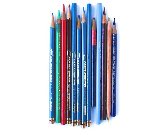 art supplies  by daisychainvintage