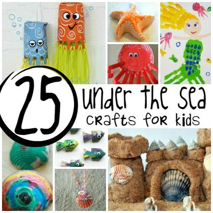 57 best images about unit study oceans and animals on for Sea life arts and crafts
