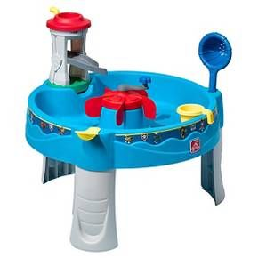 Kids will be wagging their tails for hours of fun with the Paw Patrol Water Table by Step2. Scoop, splash squirt, and save the day with Ryder and friends!  This child's water table allows little ones help Ryder look for doggies in the water through the periscope on top of Lookout Tower. Tots can help Ryder and friends use the Lookout Tower to look for doggies in distress and speed off to rescue by sending pups down the water slide for a fast and fun way to start the rescue.  Soak th...