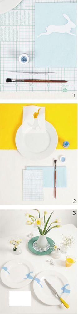 DIY Paint over boards - Bordjes beschilderen. Kijk op 101woonideeen.nl