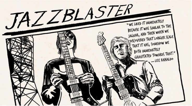 """Iconic Mods: How Sonic Youth Invented the """"Jazzblaster"""" — See guitarist Lee Ranaldo's Take on the Jazzmaster."""
