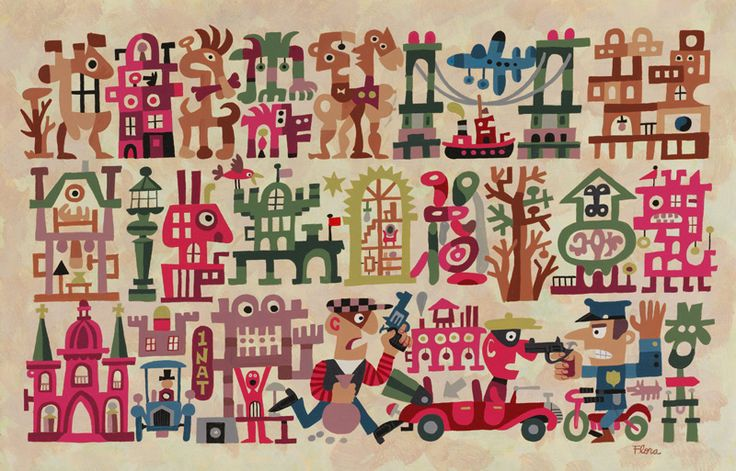 MID-CENTURIA : Art, Design and Decor from the Mid-Century and beyond: Jim Flora Illustrations