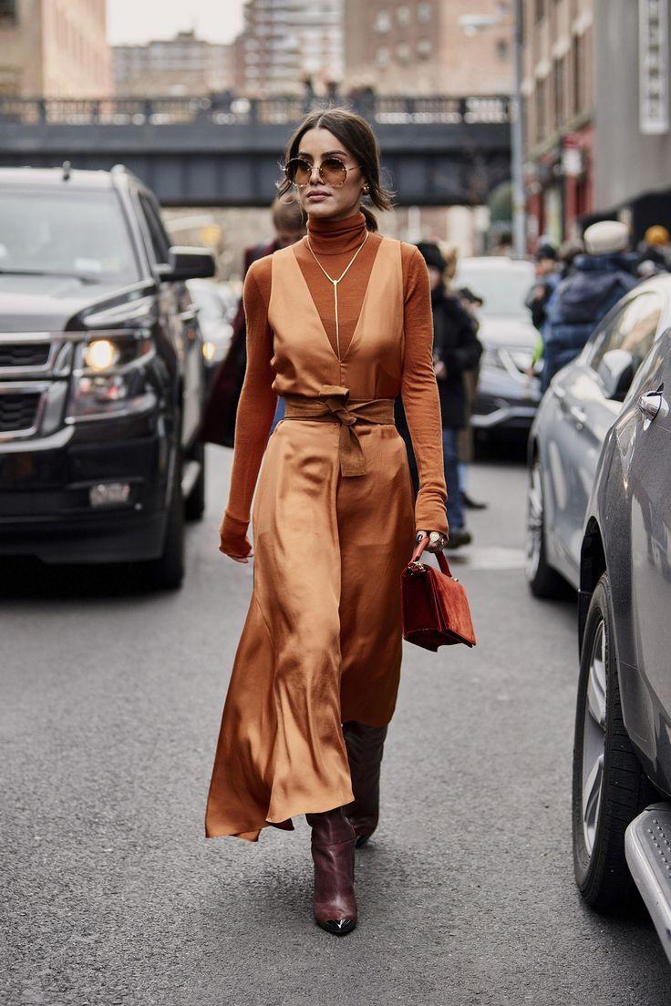 Attendees at New York Fashion Week Fall 2019 – Street Fashion