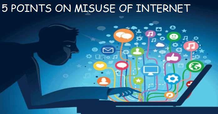 skit on misuse of internet