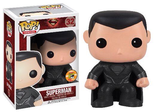 Funko Pop Vinyl DC Superman Black Suit