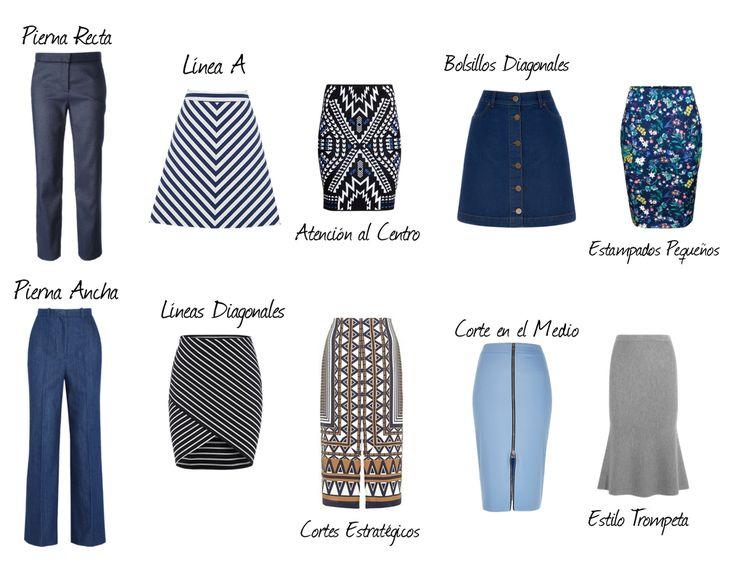 Faldas y pantalones para disimular caderas anchas - Melisa Cerabregu