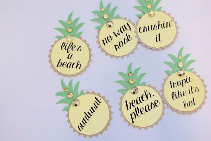 Pineapple Bachelorette Party Pins, Name Tags by LetsWearDresses on Etsy https://www.etsy.com/listing/469630319/pineapple-bachelorette-party-pins-name
