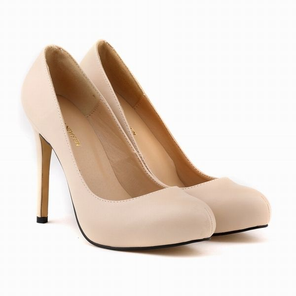 WOMENS Matte PU Leather HIGH HEEL Platform patent POINTED TOE CORSET STYLE WORK PUMPS COURT SHOES US4-11 806-2MA