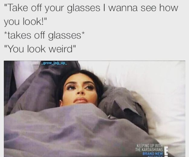 50 Memes About Wearing Glasses That Will Make You Laugh Until Your Eyes Water