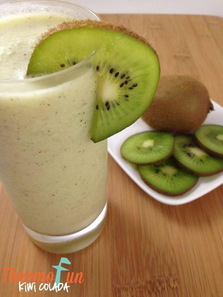 Thermomix Kiwi Colada - ThermoFun | Thermomix Recipes & Tips | Fa