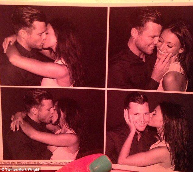 Mark Wright & Michelle Keegan. So cute!...I want this!