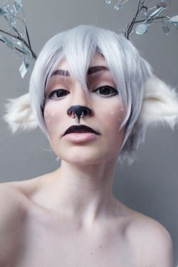 • fantasy my face Faun fawn halloween makeup faun makeup fawn makeup Fantasy Makeup sorry for posting so much stuff today omg it's been piling up because i do it all on my free days and post it throughout the week criedwolves •