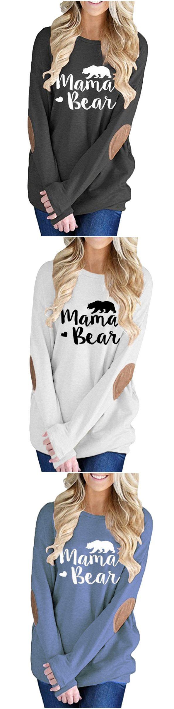 Love this mama bear sweatshirt. Looks so comfy.