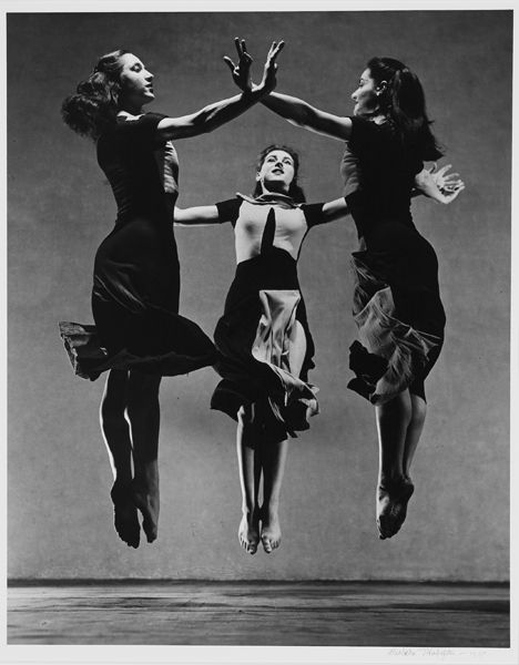 "Photo by Barbara Morgan   ""Celebration"" Choreograph by Martha Graham"