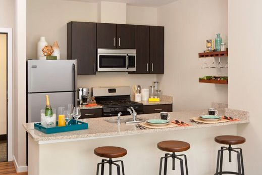 6 Apartments with the Most Beautiful Kitchens