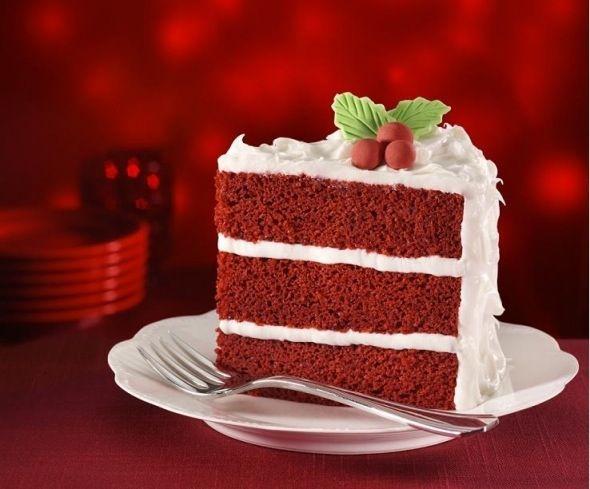 Red Velvet Cake #holidays