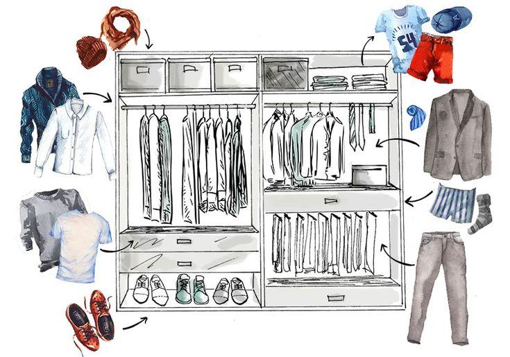 De kledingkast: bestaat er zoiets als de perfecte kledingkast? Jazeker! Westwing laat je er een zien die voldoet aan al jouw wensen én die van je partner.
