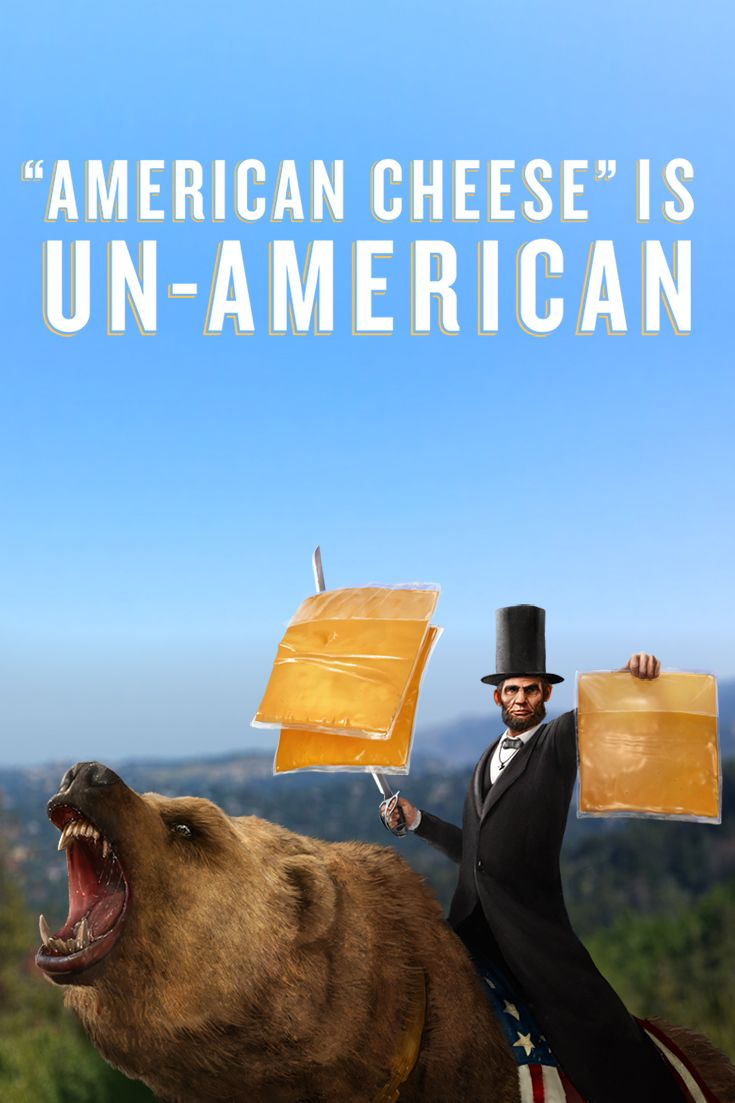 """I signed the White House petition to remove America's name from processed """"American Cheese"""". Help us collect 100,000 signatures for a White House response at Tillamook.com/UnAmerican-Cheese-Petition."""