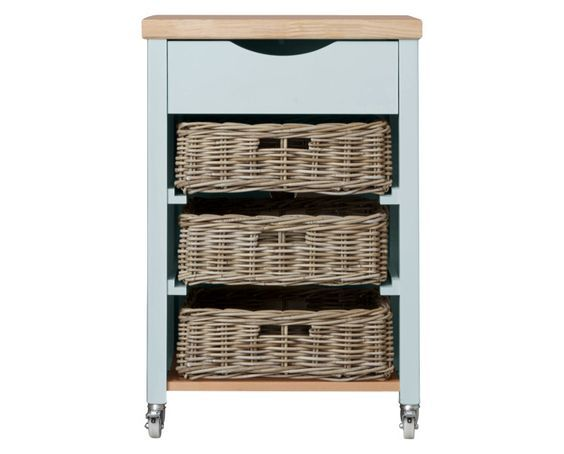 Dorset Duck Egg Butchers Trolley from Laura Ashley