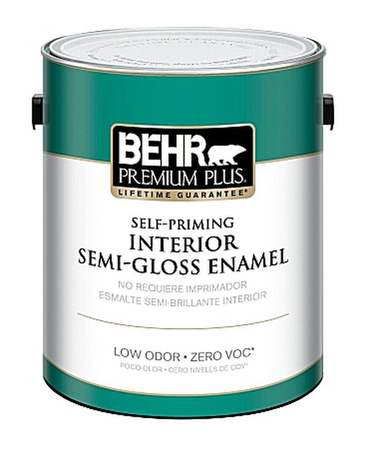 Behr's No-VOC Interior Eco-Friendly Paint with Primer ...