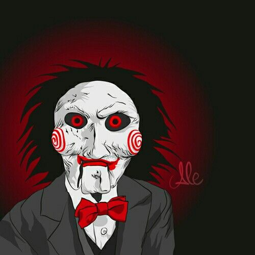 Jigsaw from the movie saw