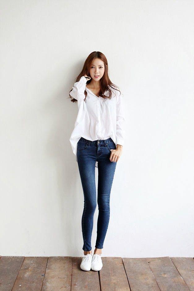 Mais De 1000 Ideias Sobre Estilos De Moda Coreana No Pinterest | Moda Coreana Conjuntos Da Moda ...