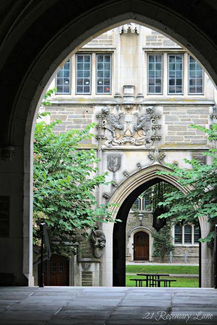 Princeton University by 21 Rosemary Lane www.decoratingwithbarbara.blogspot.com