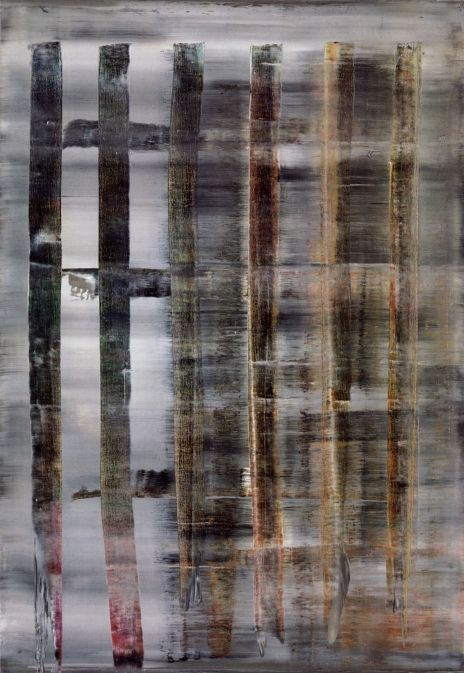 Gerhard Richter, Abstraktes Bild (Abstract Painting), 1992. Oil on canvas. 200cm H x 140cm W. [779-3]