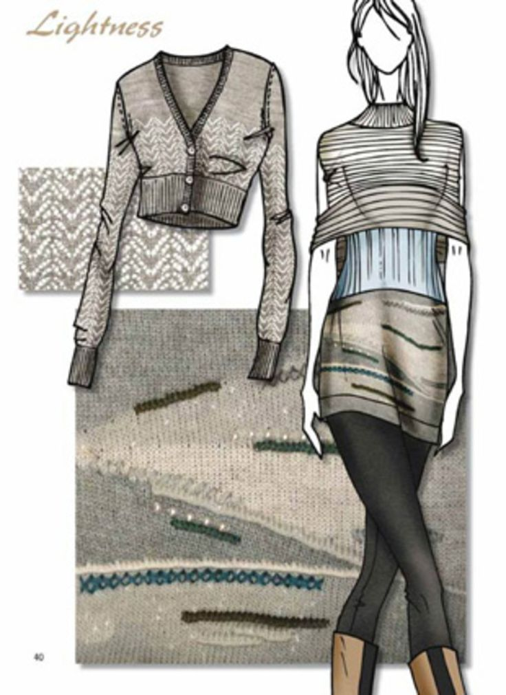 knitwear 2015 trends | Close-Up Stylebook Knit Vol. 2 A/W2014/2015 incl. DVD - Close-Up ...