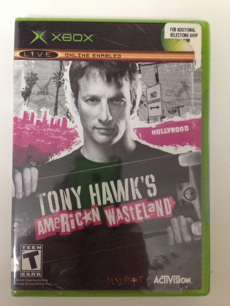Tony Hawk's American Wasteland  (Xbox,Online Enabled 2005) FACTORY SEALED