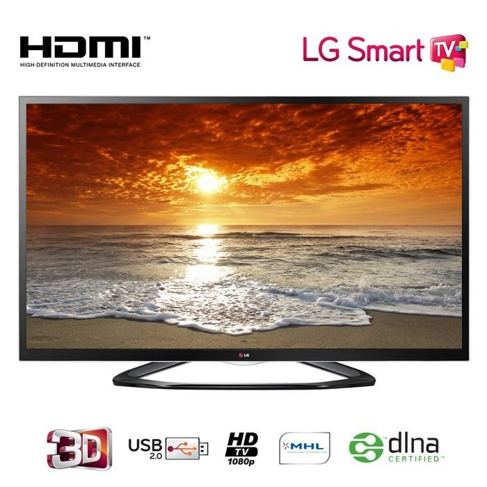 Tv led 3D pas cher Cdiscount,, achat LG 55LA640S LED TV 3D Smart TV prix promo Cdiscount 799.90 € TTC