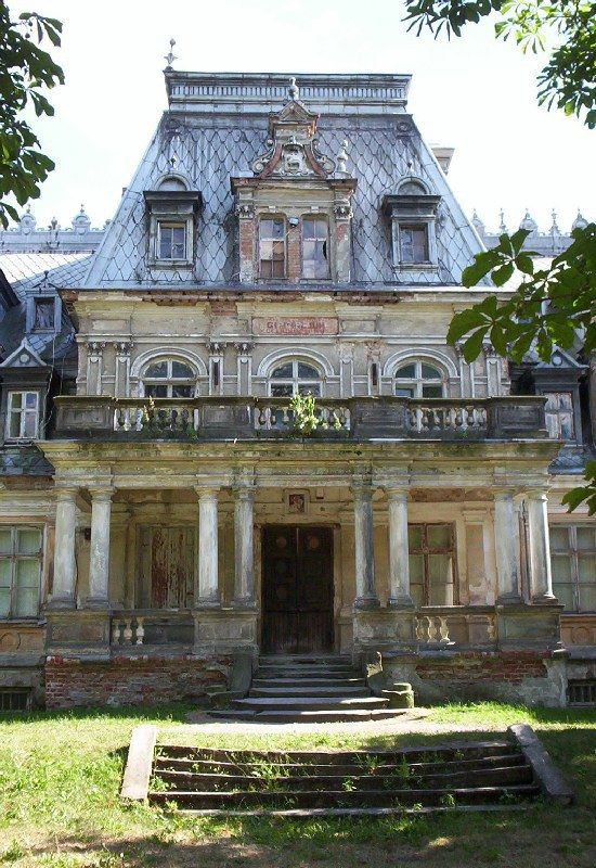 Sobanski Palace (xix century) location: Guzów, Poland