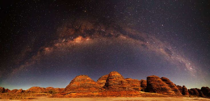 Milky Way Over the Bungle Bungles: Bungl Milkyway, Astronomy Milkyway, Milkyway Panorama