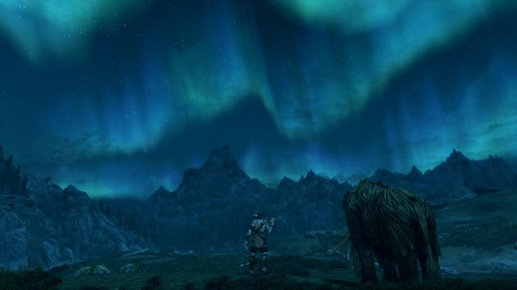 Still spend most of time in awe at the beauty of this game. [vanilla xbox one] #games #Skyrim #elderscrolls #BE3 #gaming #videogames #Concours #NGC