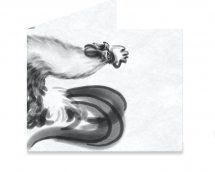 Dynomighty Artist Collective: Chinese Ink Rooster by ajbis 2017 is the Chinese Zodiac year of the fire rooster. The responsible one. Trust your money in this special mighty wallet! #mightywallet #wallet #mighty #paper #giftideas #chineseink #brushstrokes #rooster #ChineseNewYear #ink #cockerel #chicken #badass #zodiac #horoscope #2017