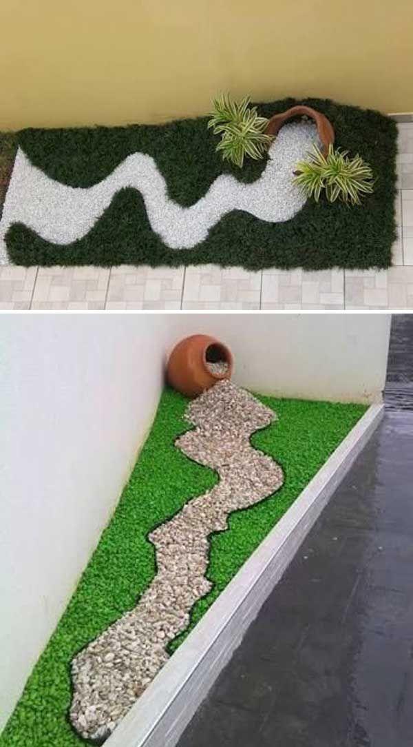 Decorare con i sassolini in giardino! 20 idee creative a cui ispirarsi…