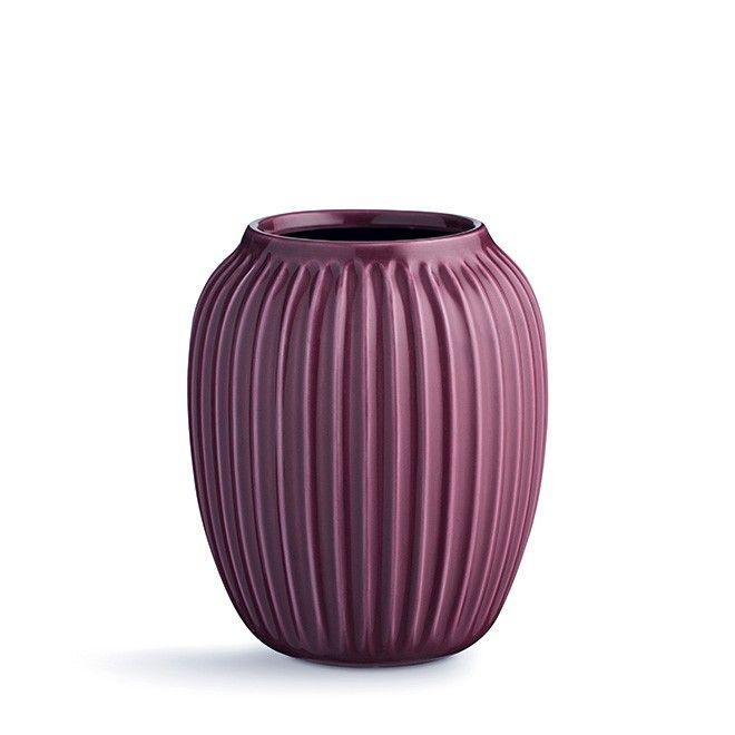 Hammershøi vase medium plum