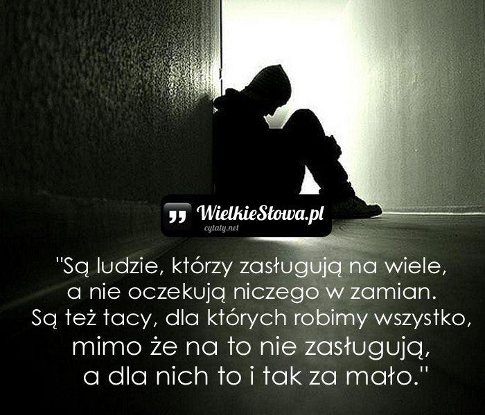 Są ludzie, którzy zasługują na wiele…