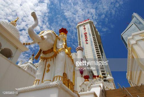 The Trump Taj Mahal Casino Resort in Atlantic City, New Jersey.