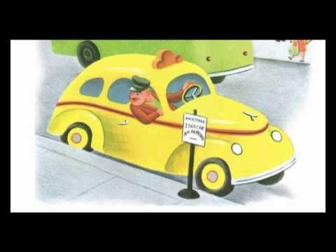 De gele taxi, digitaal prentenboek voor kleuters