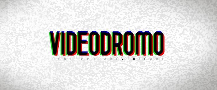 VIDEODROMO Contemporary Video Exibition Logo (indastriacoolhidea.com)
