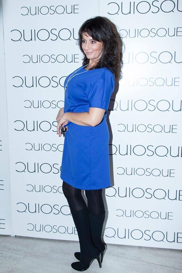 Pani Anna Korcz w sukience z kolekcji QUIOSQUE #qsq #fashion #work #stylist #press #AnnaKorcz