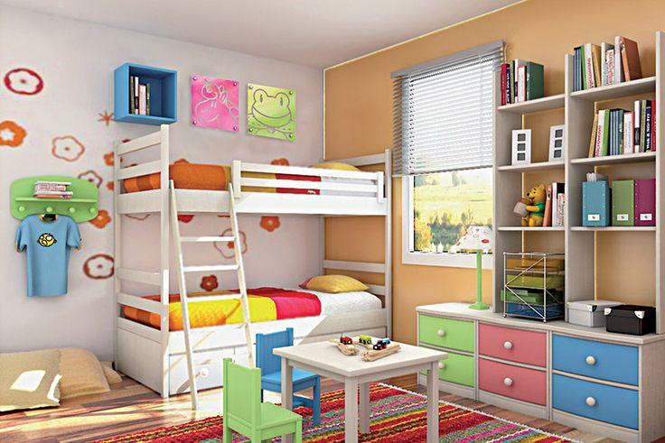 Sonia, la unicornia y Reina Rana compinches dan color a tu habitación.