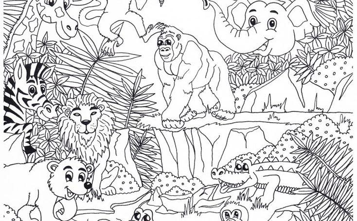 10 prachtige dieren kleurplaten 187 crea met in 2020