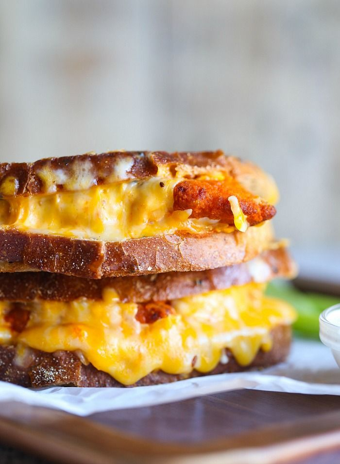 25+ best ideas about Buffalo chicken grilled cheese on ...