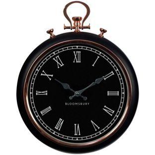 Buy Premier Housewares Pocket Style Wall Clock - Copper at Argos.co.uk, visit…